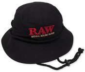 RAW Smokers Bucket Hat Black King Size