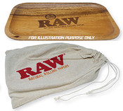 RAW Wood Rolling Tray Small