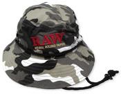 RAW Smokers Bucket Hat Camo 1-1/4