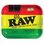 RAW RASTA Rolling Tray Metal Large