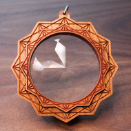 FutureEyes - 12 Sided Star Hardwood Pendant