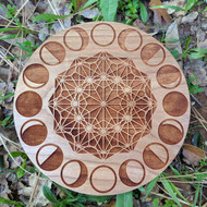 Moon Phases Crystal Grid by Alkimiya Creations