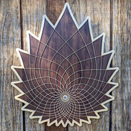 'Lotus Vision' Two Layer Wall Art