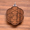 Seed of Life in Walnut wood