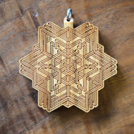 'Inner Self' Hardwood Pendant
