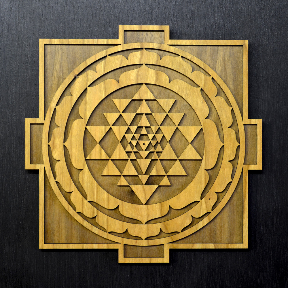 Sri Yantra Mandala Wall Art