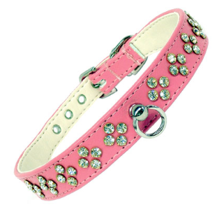 """Available in Black, Red or Pink (shown) Fits neck sizes: 15.5-17.5"""""""