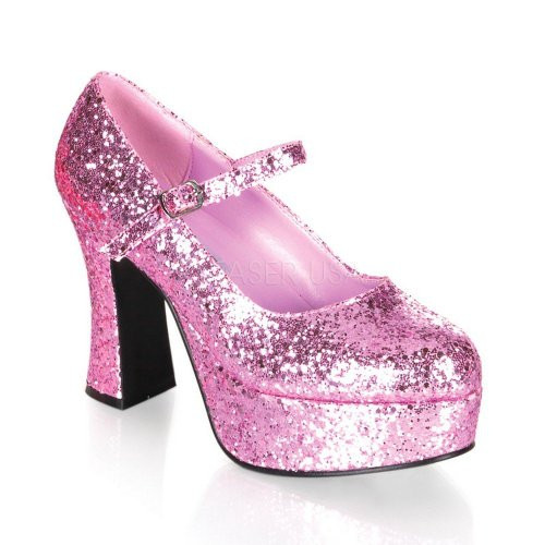The pink colors adds a dazzling effect to your sissy outfit!