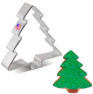"""COOKIE CUTTER CHRISTMAS TREE 4"""""""