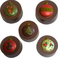 MOLD COOKIE CANDY ORNAMENTS 5 CAVITIES