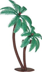 CAKE DECO PALM TREES 4 COUNT