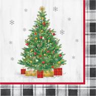 LN LUNCHEON NAPKINS HOLIDAY TREE 16 CT