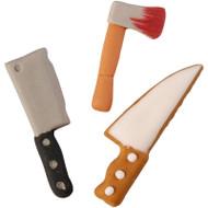 ICING DECOR  KNIFE, CLEAVER, HATCHET