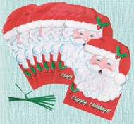 PARTY TREAT BAGS SANTA 25CT