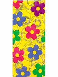 Party Treat Bags Dancing Daisies 20ct Wilton