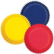 Assorted Primary Mini Cupcake Baking Cups 100ct. Wilton
