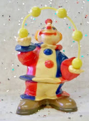 CAKE DECO JUGGLER CLOWN WILTON