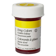 Golden Yellow Icing Color 1oz. Jar Wilton
