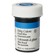 Royal Blue Icing Color 1oz. Jar Wilton