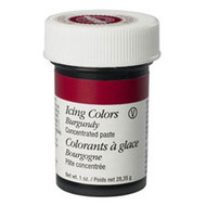 Burgundy Icing Color 1oz. Jar Wilton