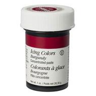 Burgundy Icing Color 1oz. Jar Wilton