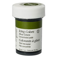 Moss Green Icing Color 1oz. Jar Wilton