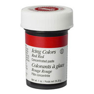 Red Red Icing Color 1oz. Jar Wilton