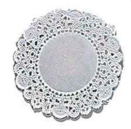 "8"" White Doilies 16ct. Wilton"