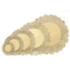 DOILIES GOLD 12 IN WILTON
