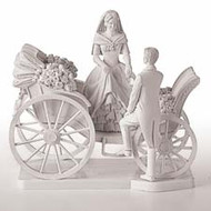 Cake Topper Just Married Wilton