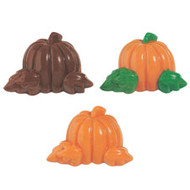 Pumpkin candy mold