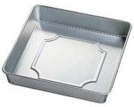 "8""x2"" Performance Square Cake Pan Wilton"