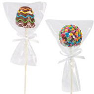 Pops Favor Bags w/ Ties 12ct Wilton