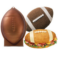First and Ten Football Cake Pan Wilton