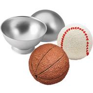 3-D Sports Ball Cake Pan Wilton