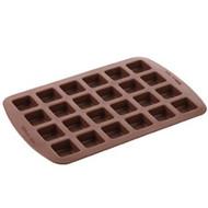 Bite-Size Brownie Squares Silicone Mold Wilton