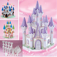 Fairytale Castle Cake Set 32 pcs Wilton
