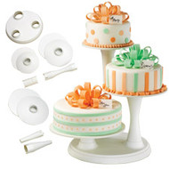Cake Stand 3-Tier Pillar Wilton
