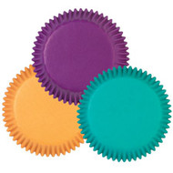 Assorted Jewel Tone Cupcake Baking Cups 75ct Wilton
