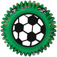 Soccer Cupcake Baking Cups 50ct Wilton