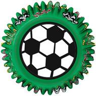 Soccer Cupcake Baking Cups 50ct Wilton