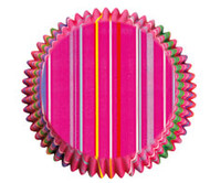 Snappy Stripes Cupcake Baking Cups 75ct Wilton