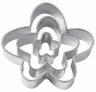 Fondant Funny Flower Cut-Outs 3 pc. Wilton