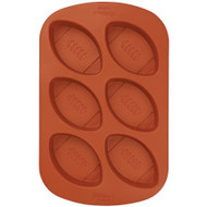 Mini Footballs Silicone Mold Wilton