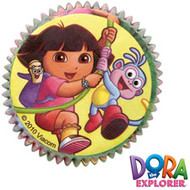 Dora Cupcake Baking Cups 50ct Wilton