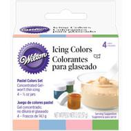 Pastel Icing Color Set 4ct. Wilton