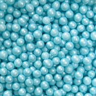 Blue Sugar Pearls 5oz. Wilton
