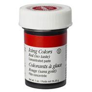 No Taste Red Icing Color 1oz. Jar Wilton