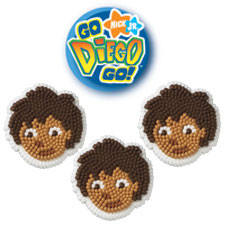 Diego Icing Decorations
