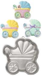 Baby Buggy Cake Pan Wilton